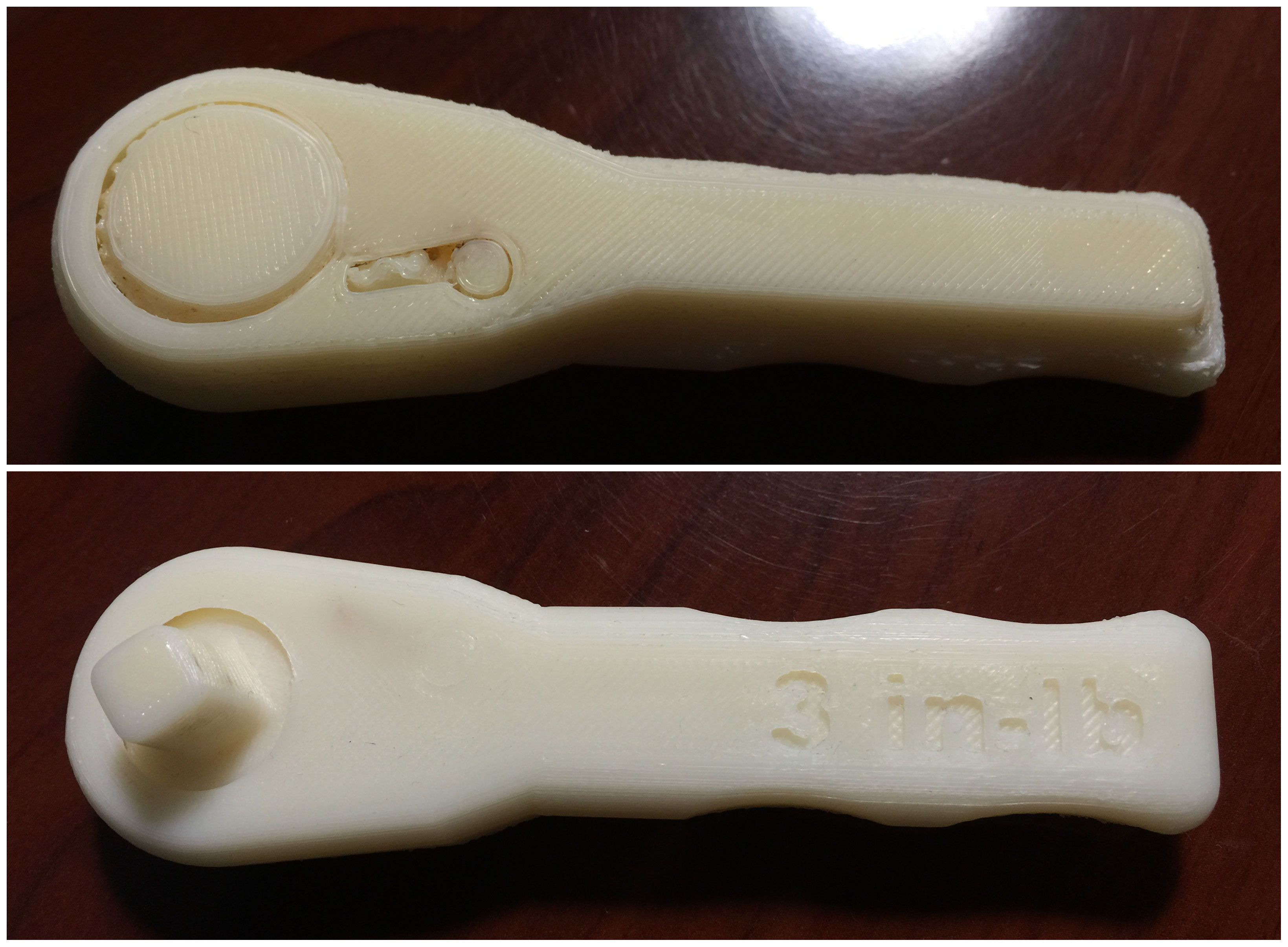 "Fully-functional 3d printed ""Made in Space"" wrench from NASA"