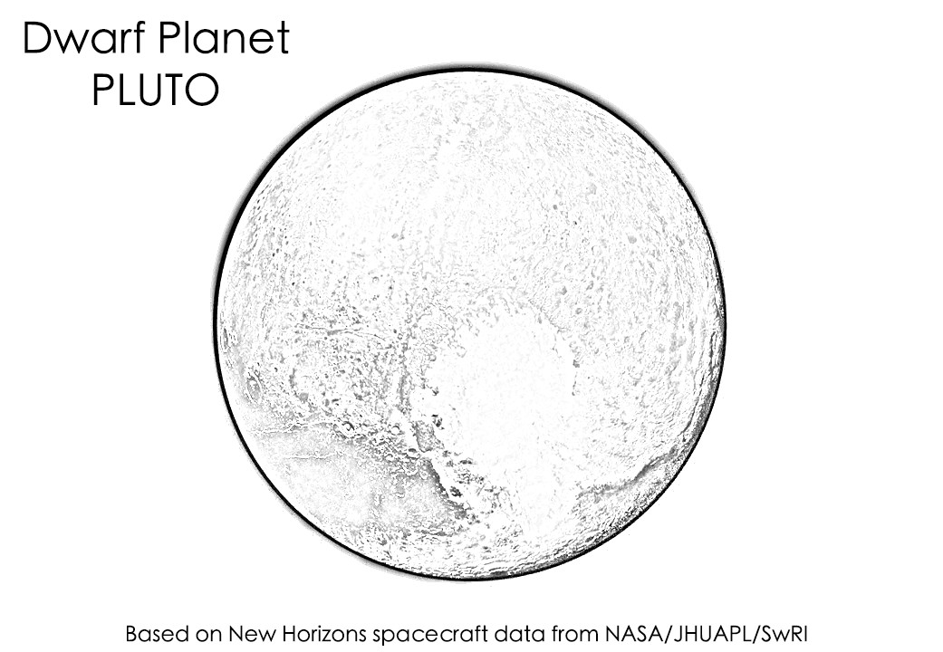 coloring pages of planets - space science coloring pages for kids and adults a